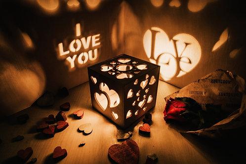 WoodyBox Love I Love U