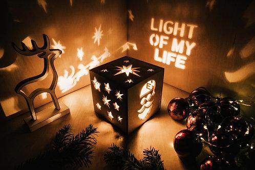 WoodyBox Santa Light