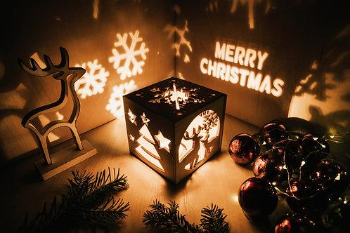 WoodyBox Deer Christmas