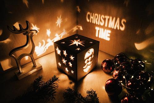 WoodyBox Santa Time