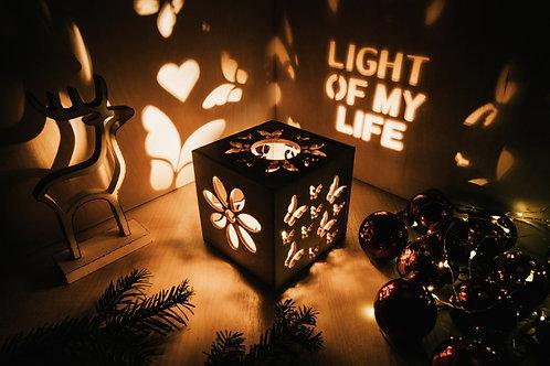 WoodyBox Butterfly Light