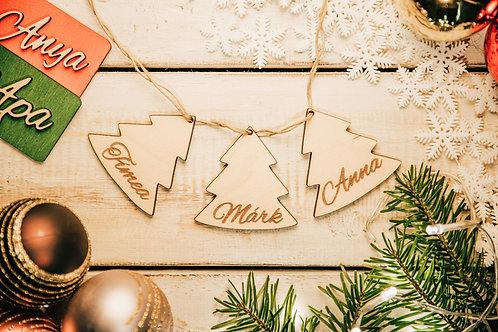 Karácsonyfa Dísz Fenyőfa 3