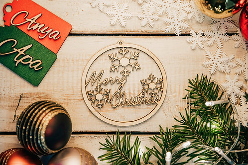 Prémium Karácsonyfa Dísz Christmas