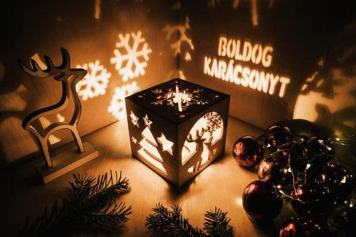 WoodyBox Szarvas Karácsony