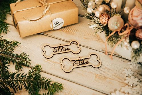 Prémium Karácsonyfa Dísz 2 Csont