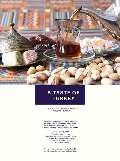 A Taste of Turkey Event