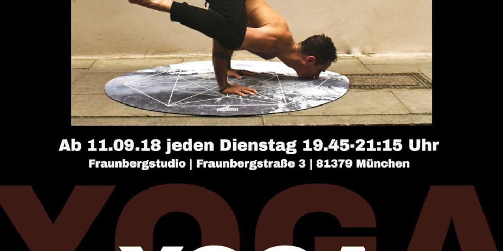Yoga für Männer - online