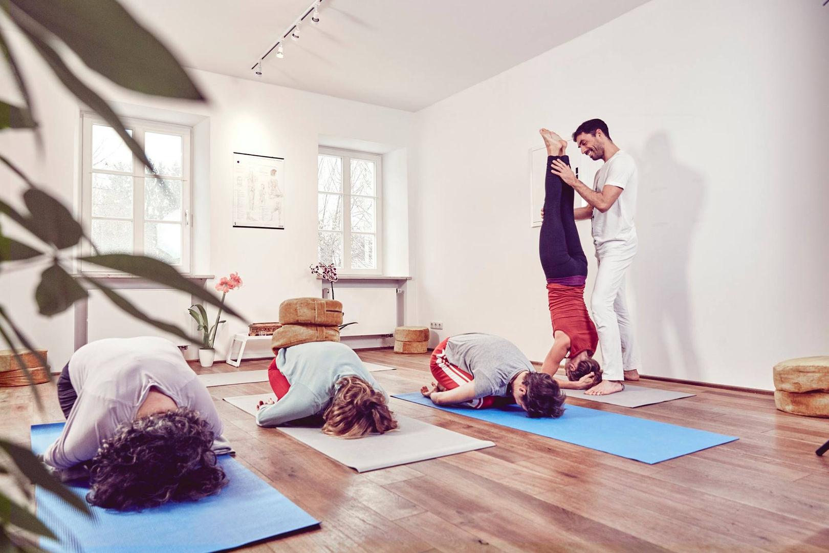Kopfstandkorrektur - Yoga München