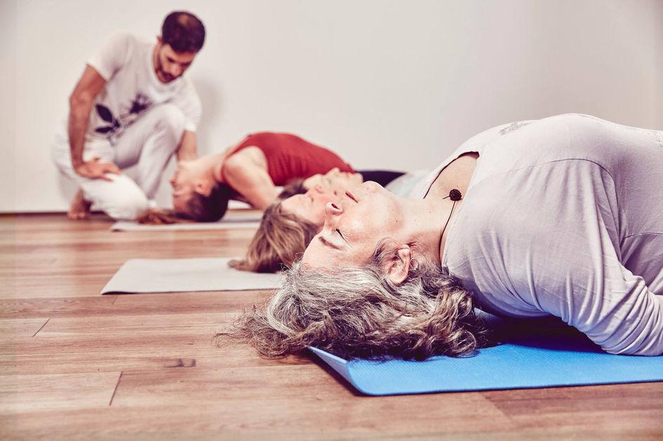 Der Fisch - Yoga München.