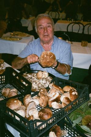 De Italiaan met de champignons