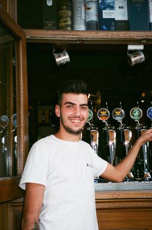 De Italiaanse barman