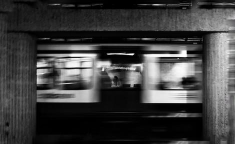 De eenzaamheid van het openbaar vervoer