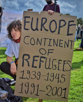 Europe continent of Refugees