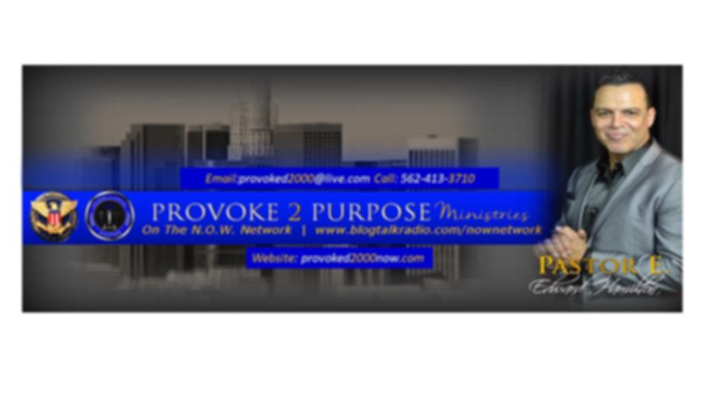 Provoke To Purpose Ministries