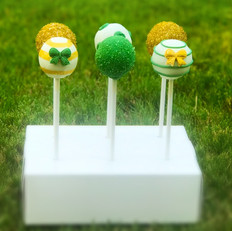 Green and Gold Pops
