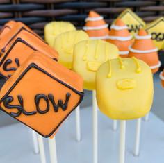 Construction Cake Pops