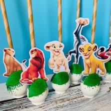 Lion King Cake Pops