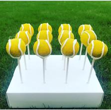 Tennis Ball Cake Pops
