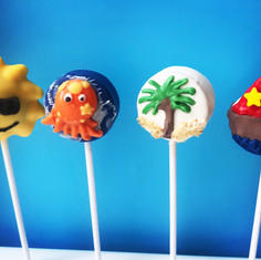 Summer Fun Cake Pops