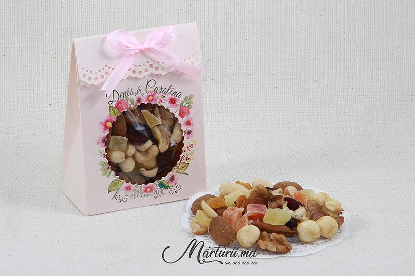 Cutiuță cu nuci și fructe uscate NF-001