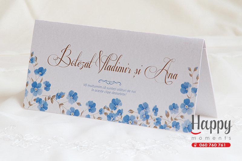 PC-003 Plic cu albastrele pentru bani la nunta sau cumetrie