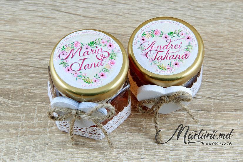 MN-018 Heart flowers