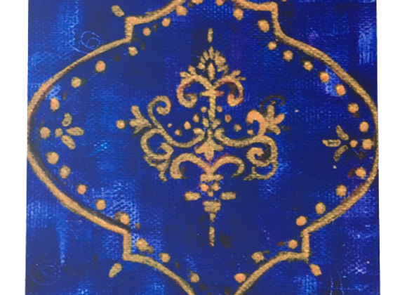 Royal Purple #1, Abstract Coasters