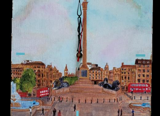 Wall Clock, Trafalgar Square