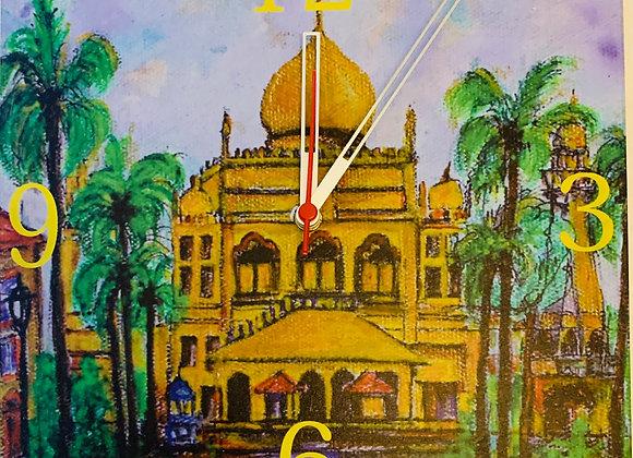 Wall Clock, Kampong Glam, Singapore