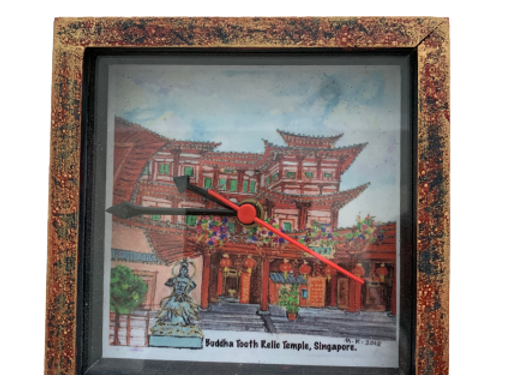 SG Table clock, Buddha Tooth Relic Temple