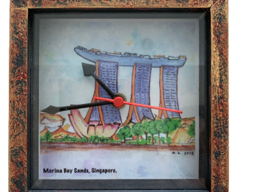 SG Table clock, Marina Bay Sands