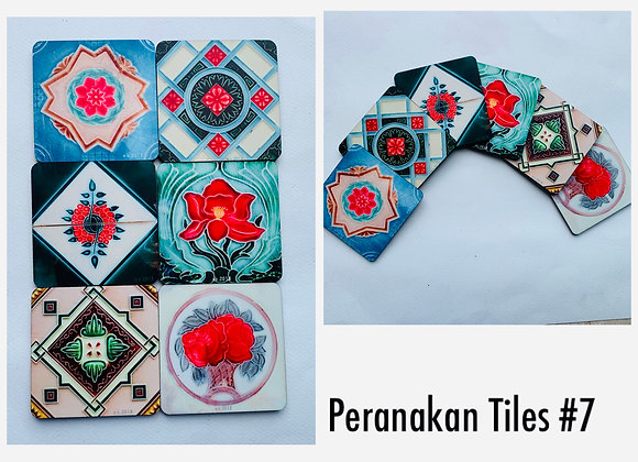 Peranakan Tile #7, Mix and Match