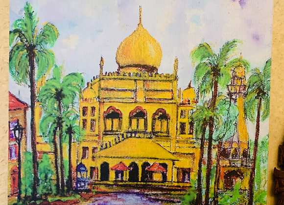 Printed Canvas, Kampong Glam,