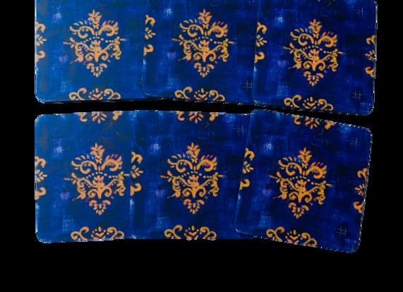 Royal Purple #2, Abstract Coasters