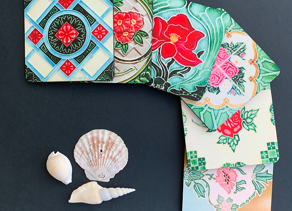 Peranakan Tiles #9, Mix and Match