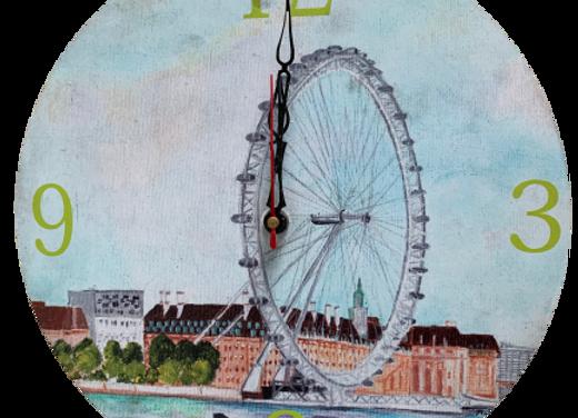 Wall Clock, London Eye