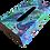 Thumbnail: Wooden Tissue Box, Blue Paisley