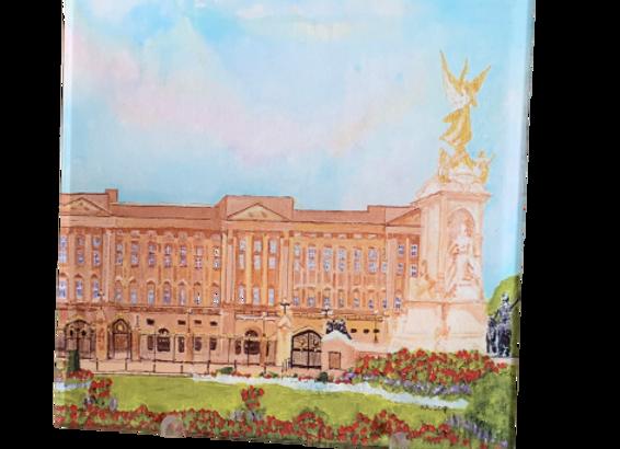 London Acrylic Trivet / Display unit, Buckingham Palace