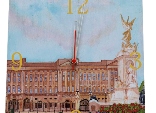 Wall Clock, Bukingham Palace, London
