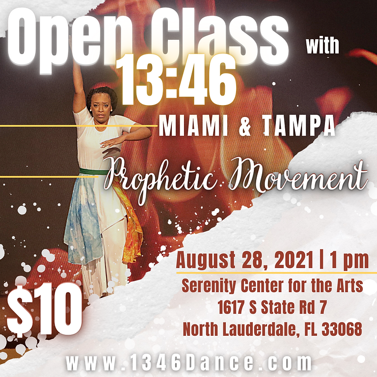 Open Class with 13:46 Miami & Tampa