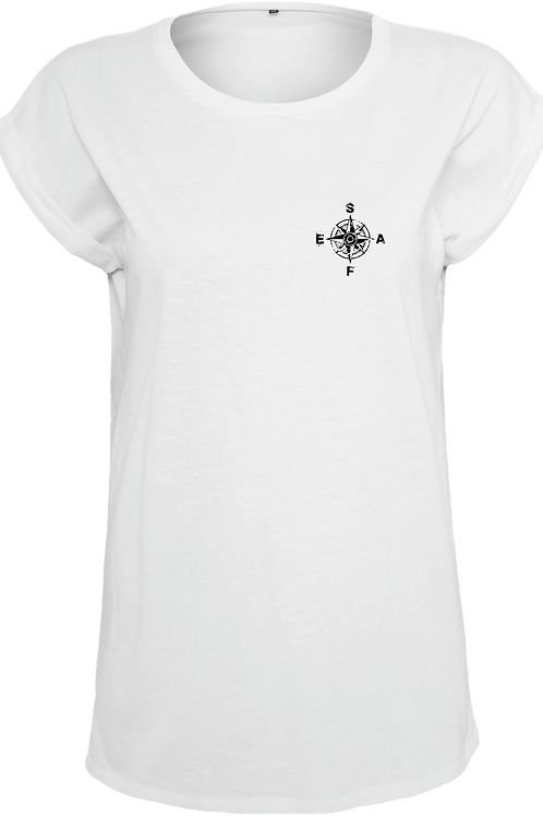 T-Shirt Organic Round Neck KOMPASS