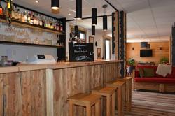 Le Bar de l'hôtel Le Faranchin
