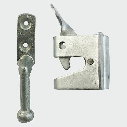 Heavy duty automatic gate latch HDG 2""