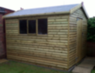 10ft x 8ft Apex Shed