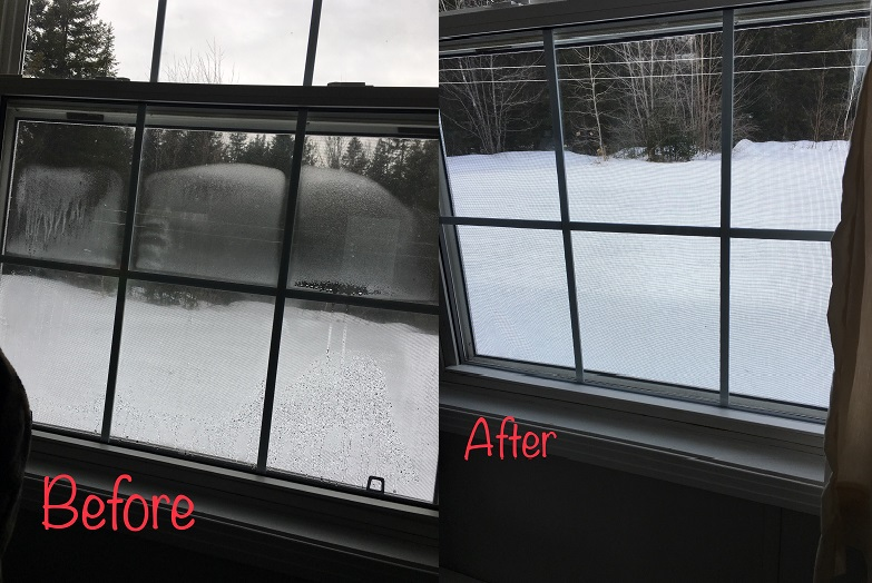 Before & After Thermopane