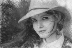 Detailed B&W Sketch