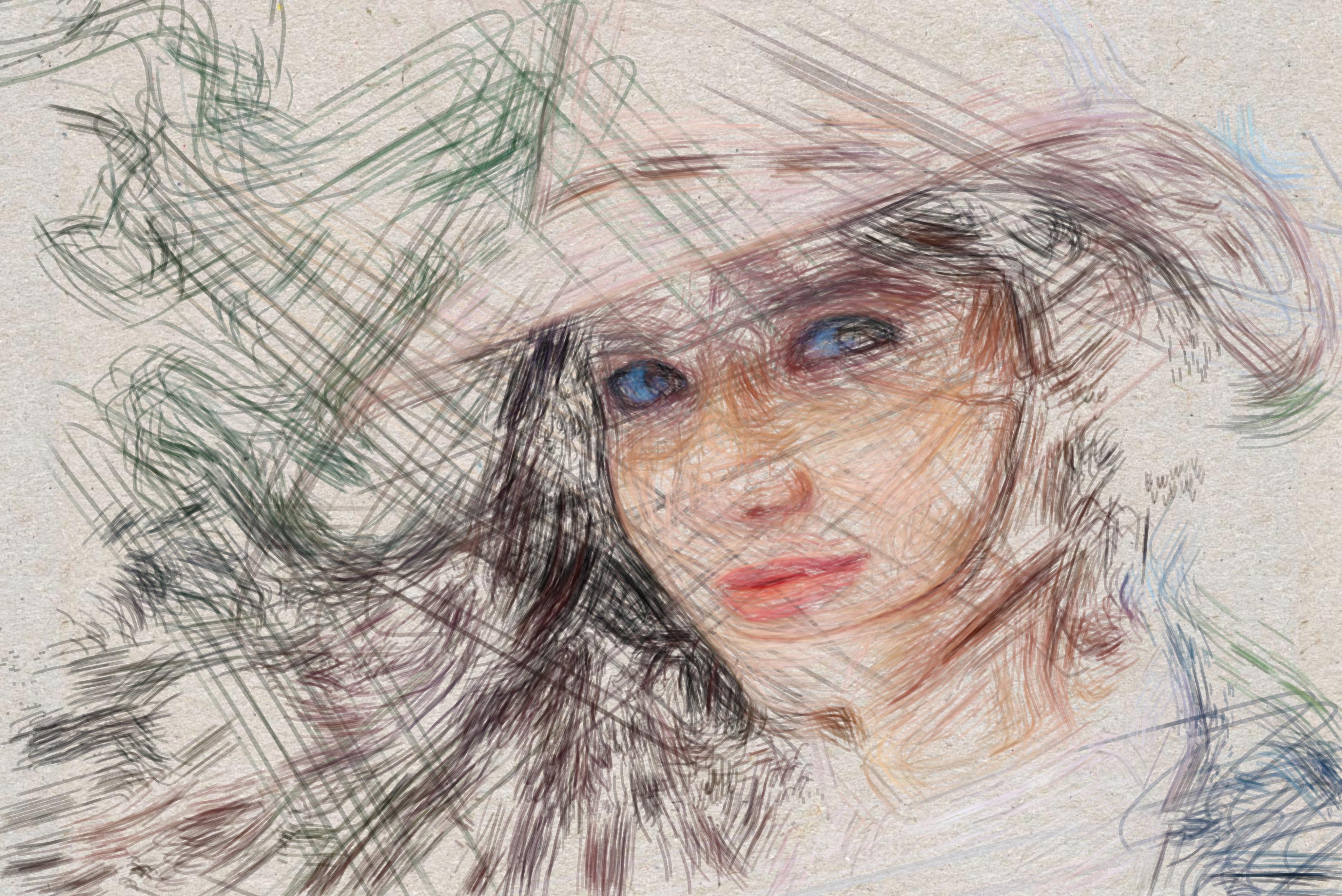 Sparse Sketch