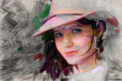 Oil on Sketch