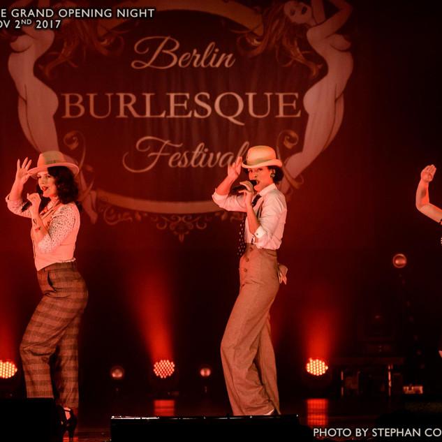 Lou's The Cool Cats auf dem Berlin Burlesque Festival