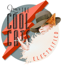 Lou's The Cool Cats, Vintageband aus Köln, Electrified Logo